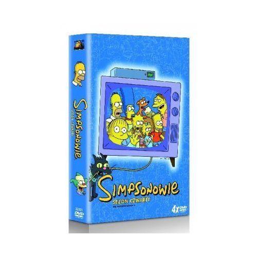 Imperial cinepix Simpsonowie - sezon 4 (dvd) - mark kirkland. darmowa dostawa do kiosku ruchu od 24,99zł