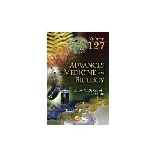 ADVANCES IN MEDICINE & BIOLOGY VOLUME 12 (9781536132045)
