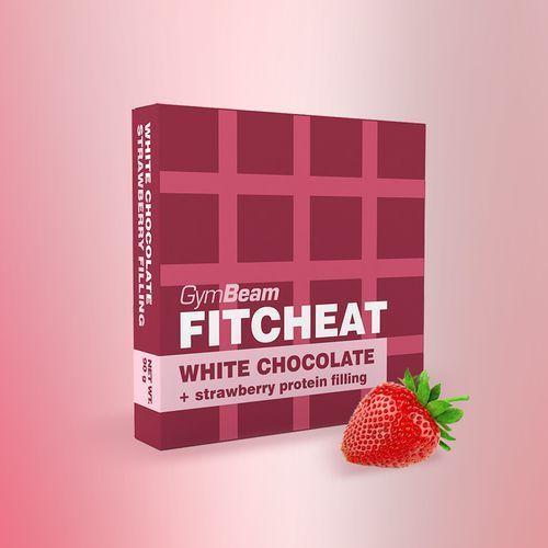 GymBeam Fitcheat czekolada białkowa 90 g (8588007570273)