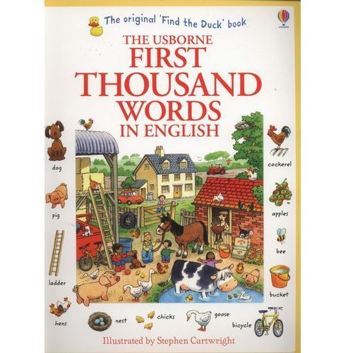 First Thousand Words in English (9781409562894)