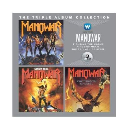 Triple Album Collection - Manowar (Płyta CD) (0081227973971)
