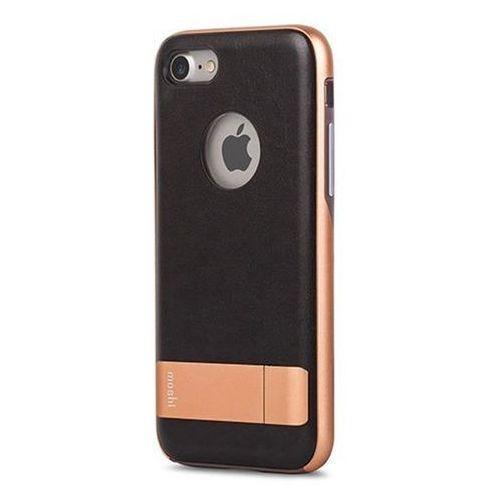 Moshi iglaze kameleon - etui hardshell z podstawką iphone 7 (imperial black) odbiór osobisty w ponad 40 miastach lub kurier 24h