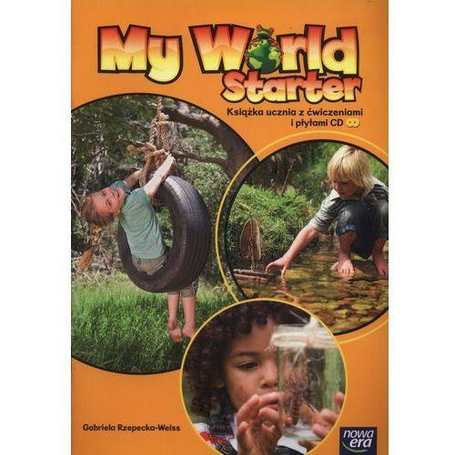 Język angielski My World Starter Podręcznik Edukacja wczesnoszkolna, oprawa miękka