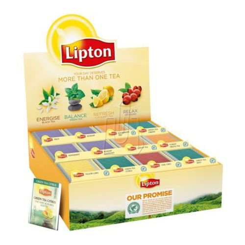 Zestaw herbat Lipton 180 kopert mix smaków (8722700496991)