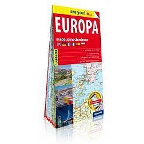 See you! in... Europa 1:4 000 000 (9788381900690)