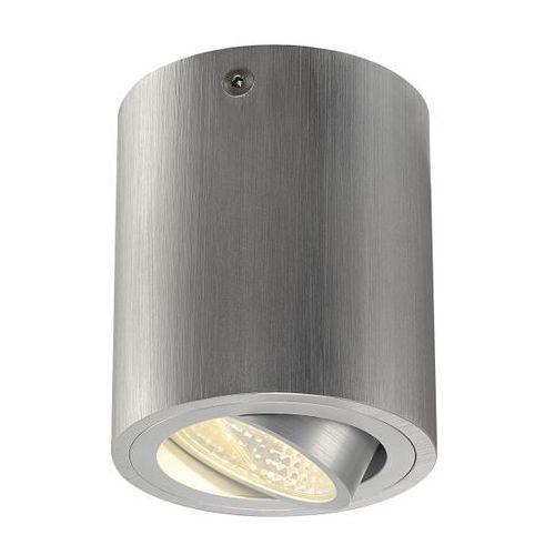 Lampa sufitowa triledo okrągła cl aluminium szczotkowane, 113936 marki Spotline