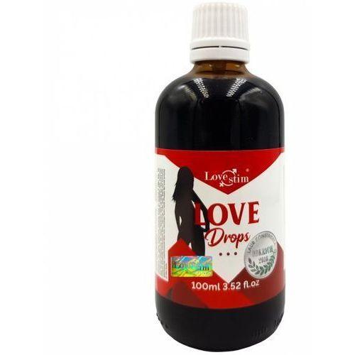 Lovestim Love drops niesamowicie mocne krople podniecające potężne składniki (5903268071285)