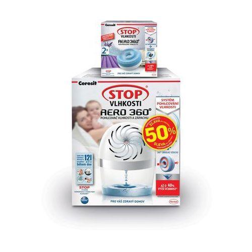 Ceresit Stop wilgoci AERO 360° biały + tabletki lawendowe 2x450 g - sprawdź w wybranym sklepie