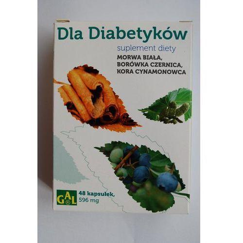 Dla Diabetyków (Morwa Biała + Borówka + Cynamon) 48 kaps. (5907501110489)