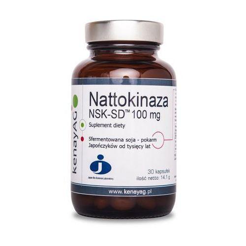 Kenay Nattokinaza NSK-SD 100mg 30kaps - suplement diety (5900672152968)