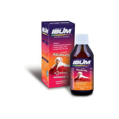 Ibum zaw.doust. 0,1 g/5ml 130 g smak malinowy (lek Pozostałeleki i suplementy)