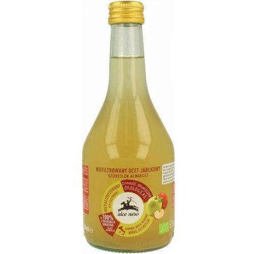 Ocet jabłkowy niefiltrowany bio 500 ml - alce nero marki Alce nero (włoskie produkty)