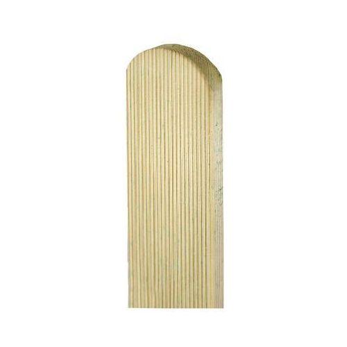 Sztacheta drewniana 180 x 9 x 2 cm ryflowana SOBEX