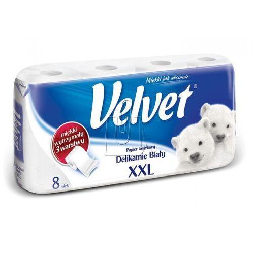 Velvet Papier toaletowy xxl biały 8 rolek (5029053034232)