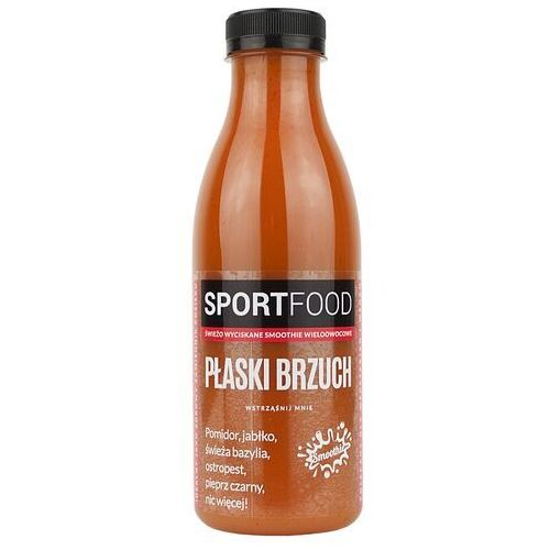 Sportfood Płaski brzuch sok pomidorowo-jabłkowy / soki coldpress / dostawa w 24h / detoks sokowy / dieta sokowa