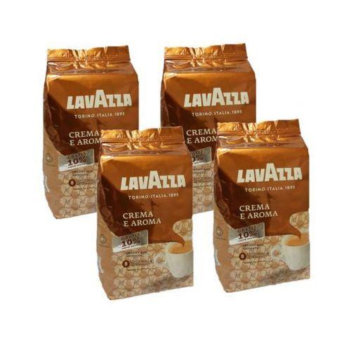 Zestaw 4x LAVAZZA Crema e Aroma 1kg +10% GRATIS Kawa ziarnista Edycja limitowana