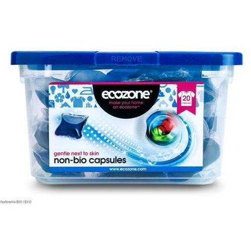 Ecozone kapsułki do prania tkanin białych i kolorowych 20 szt - oferta [15e1612eb505930e]