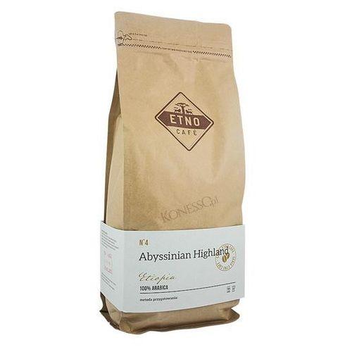 Kawa ziarnista abyssinian highland 1kg marki Etno cafe