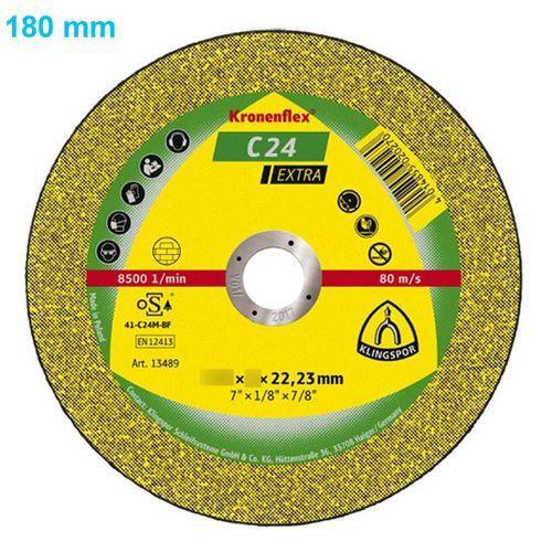 Klingspor Tarcza do cięcia kronenflex c 24 extra 180 x 3,0 x 22 mm płaska