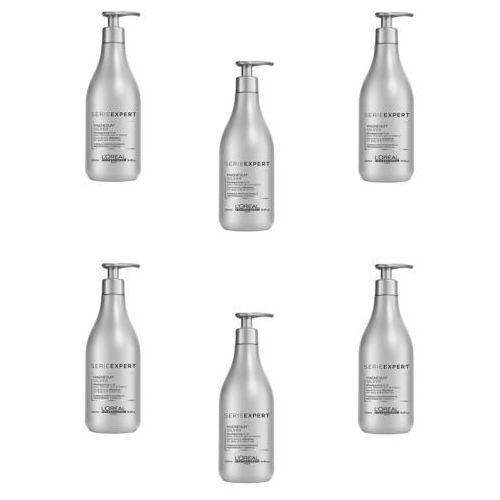 Loreal Zestaw Silver - szampon do włosów siwych lub rozjaśnionych 500ml x6