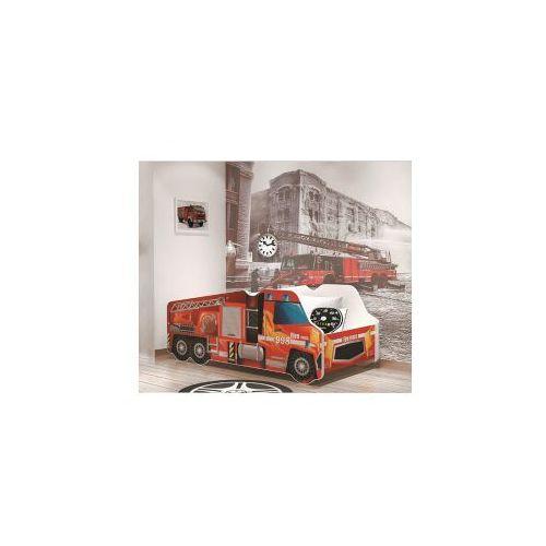Ajk meble Łóżko ciężarówka dziecięce: rozmiar - 70x140, konstrukcja - płyta mdf