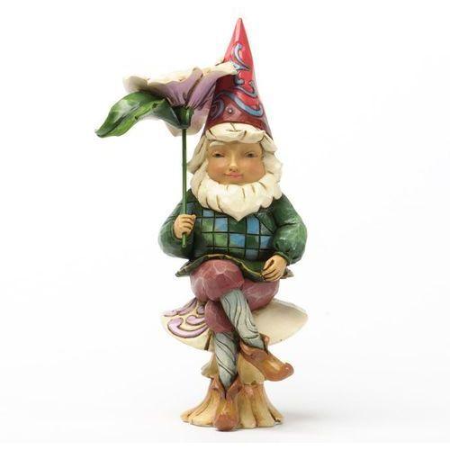 Gnom na muchomorku gnom gnome on mushroom 4037668 figurka ozdoba świąteczna skrzat marki Jim shore
