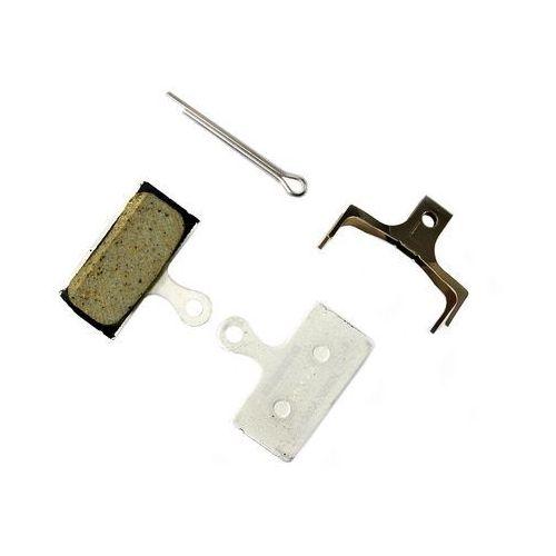 Y8LW98021(1) Okładziny (klocki) hamulcowe Shimano G02A żywiczne - bez opakowania