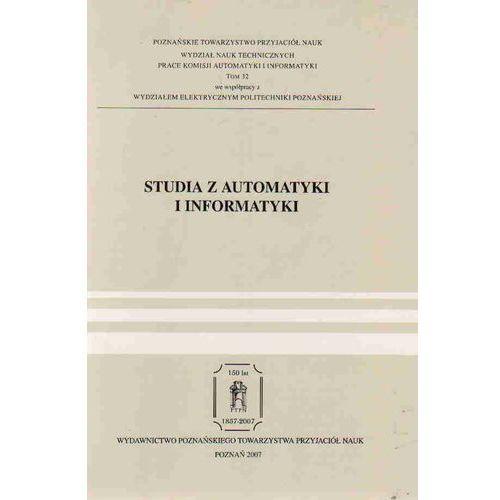Studia z Automatyki i Informatyki, praca zbiorowa