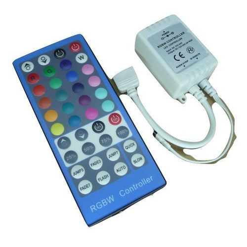 Sterownik kontroler LED RGBW taśmy 40 przycisków podczerwień