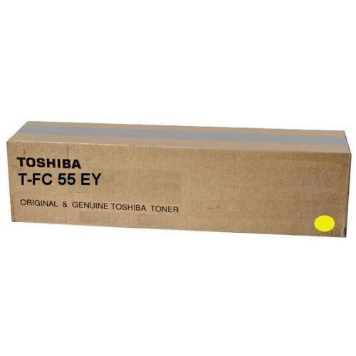 Toshiba toner Yellow T-FC55E-Y, TFC55EY, 6AK00000117, 6AG00002321