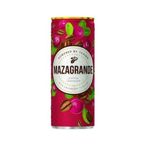 Tchibo Mazagrande 250ml napój gazowany z ekstraktem kawy o smaku żurawinowym