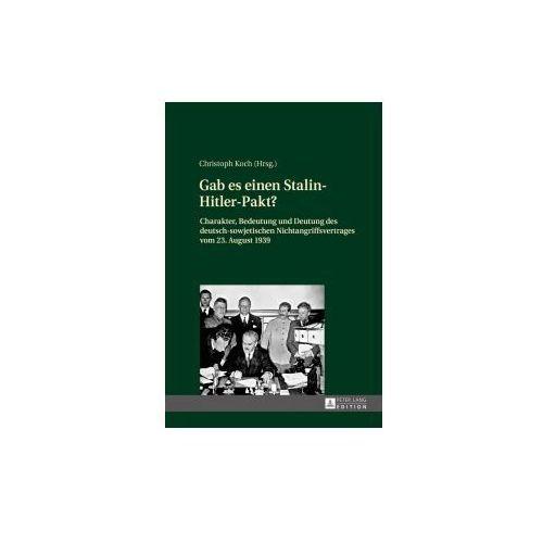 Gab es einen Stalin-Hitler-Pakt? (9783631664223)