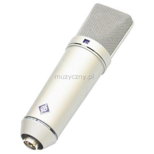Neumann U87 Ai Studio Set mikrofon wielkomembranowy + uchwyt EA87 + drewniane opakowanie, kolor niklowy