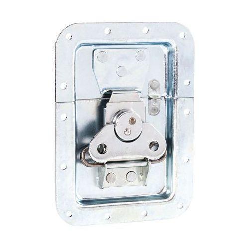 Adam Hall Hardware 17250 SP - Zamek motylkowy, duży, sprężynowy, niezagięty, głębokość: 14 mm, z oczkiem