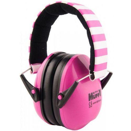 muffy pink ochronniki słuchu dla dzieci różowe marki Alpine