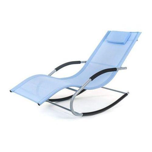 Happy Green leżak plażowy Catania 148x63x87 cm, niebieski (8591022407578)