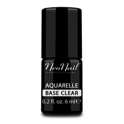 Neonail aquarelle base clear baza bezbarwna do lakieru hybrydowego aquarelle