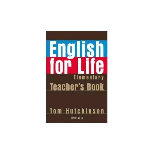 English for Life Elementary. Książka Nauczyciela, oprawa miękka