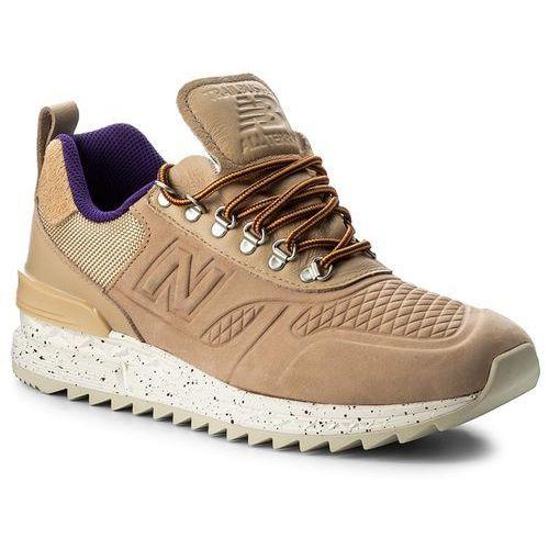 Sneakersy NEW BALANCE - TBATRA Beżowy, w 5 rozmiarach
