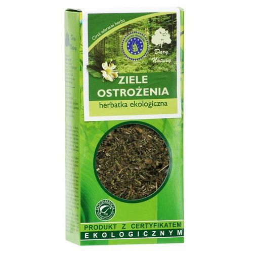 Herbatka z ziela ostrożenia bio 25 g - dary natury marki Dary natury - herbatki bio