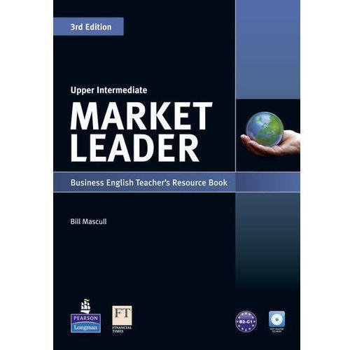 Market Leader Upper Intermediate. Książka Nauczyciela + CD, Bill Mascull