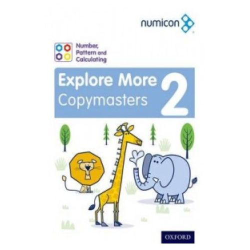 Numicon: Number, Pattern and Calculating 2 Explore More Copymasters