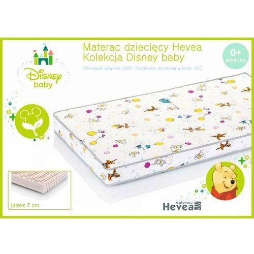 Dziecięcy materac lateksowy disney baby 60x120 marki Hevea