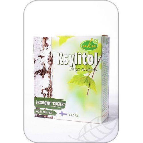 : ksylitol cukier brzozowy - 500 g marki Aka