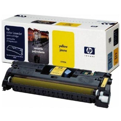 Wyprzedaż oryginał toner 121a do color laserjet 1500/2500   4 000 str.   yellow, pudełko otwarte marki Hp
