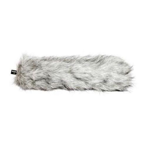 Rode deadwombat futerkowa osłona montowana na mikrofon wewnątrz osłony blimp przy mocnym wietrze