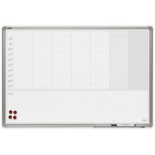 Planer tygodniowy magnetyczny 2x3 officeBoard 90x60cm + pole notatek