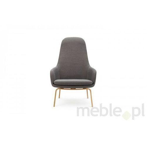 Fotel Era Dębowy z Wysokim Oparciem gabriel-breeze fusion Normann Copenhagen 602865 - produkt dostępny w Meble.pl
