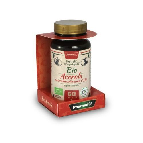 Pharmovit BIO Acerola (17% Witaminy C) - 60 kaps. (5060387203482)