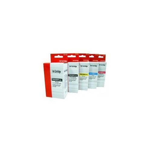 Tusze zamienniki do Epson Expression Premium T3351, T3361-T3364 XL - komplet